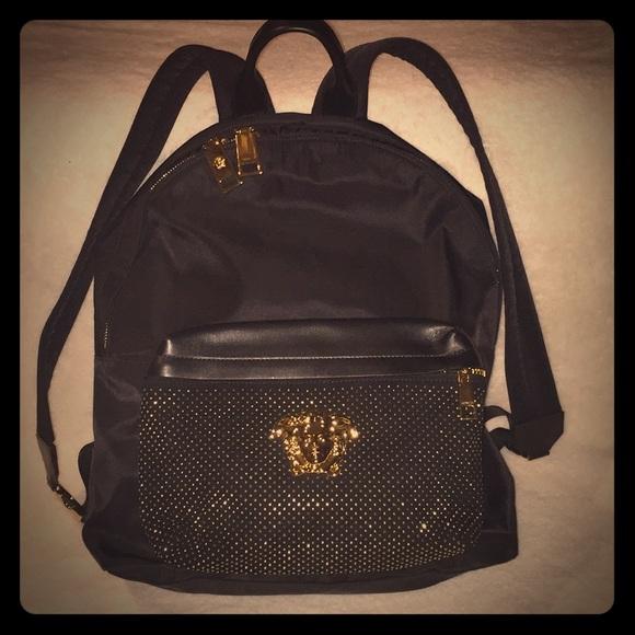 4207772c34 Versace Palazzo Stud backpack. M 5bd3d2698ad2f9af5c3a548a